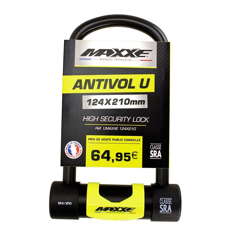 MAXXE-Antivol U 124 X 210