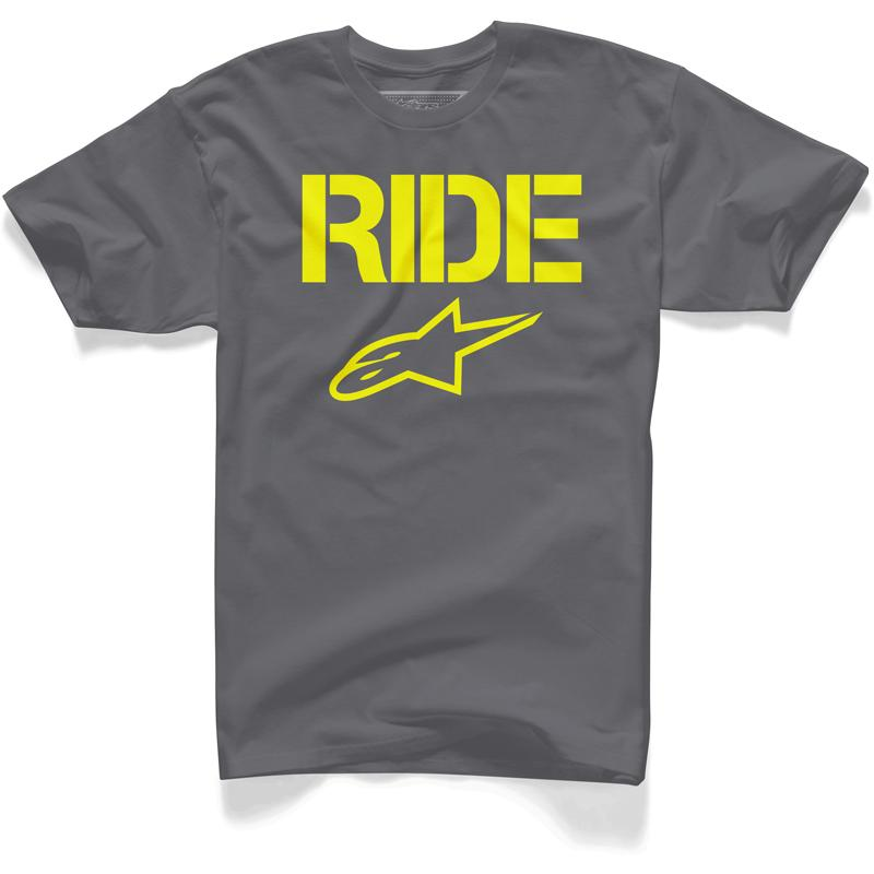 ALPINESTARS-Tee Shirt Ride Solid