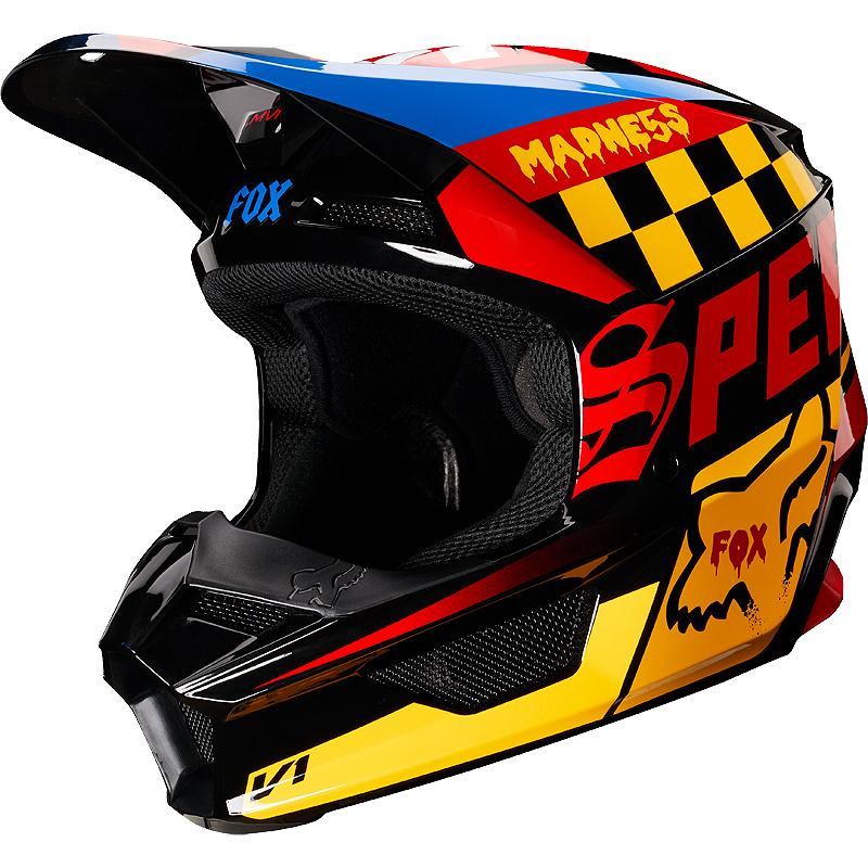 FOX-Casque cross V1 CZAR