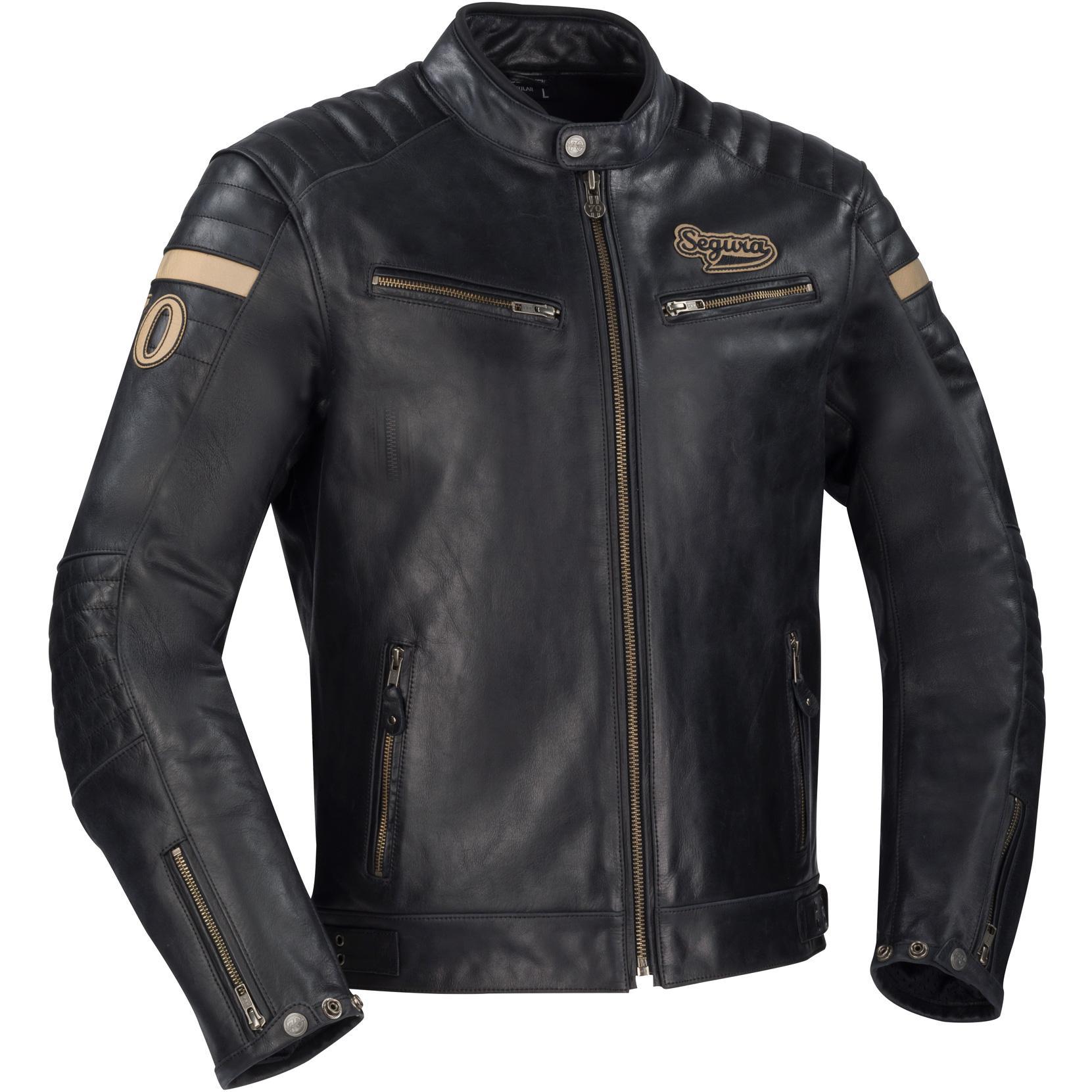 Vente veste en cuir homme