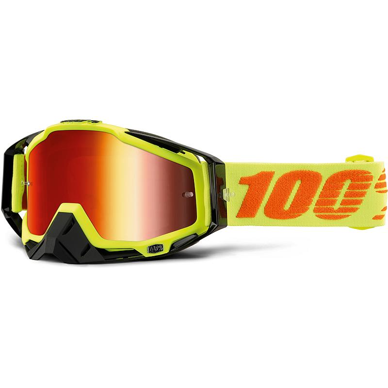100-Masque cross RACECRAFT ATTACK YELLOW