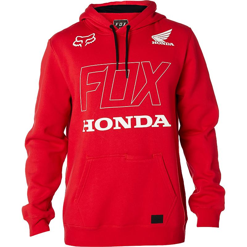 FOX-Sweat à capuche HONDA PO FLEECE