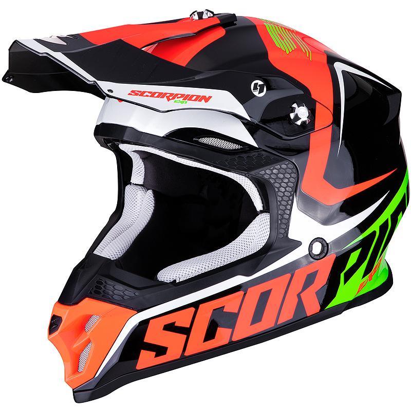 scorpion-Casque cross VX-16 AIR ERNEE