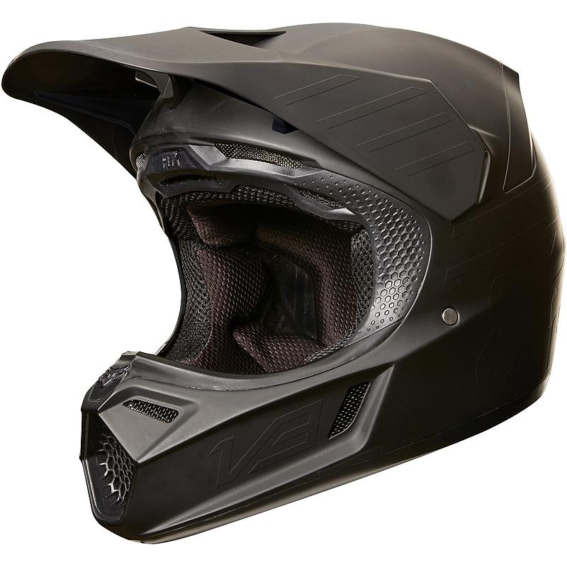 FOX-Casque cross V3 MATTE CARBON