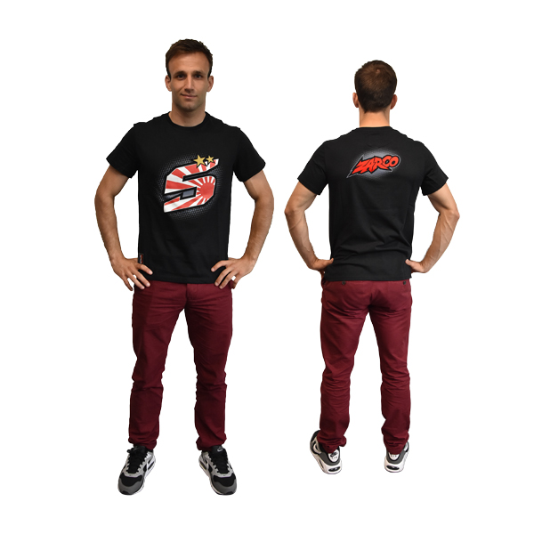 ZARCO-Tee Shirt Zarco Z5 Kamikaze Man