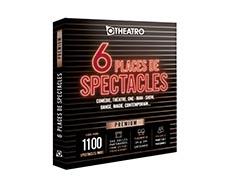 OtheatrO - Coffret 6 places de Spectacles Premium – 300 salles partenaires