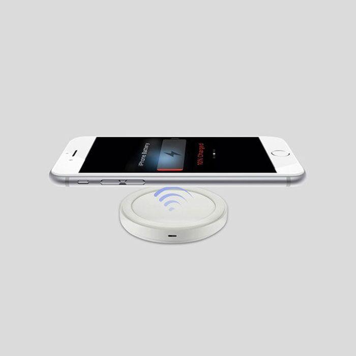 - Chargeur Sans Fil à Induction - Blanc / Android