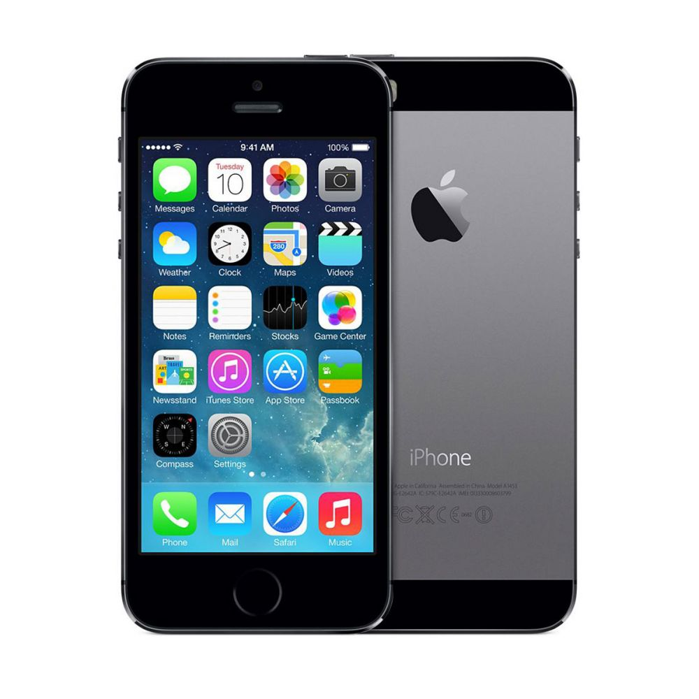 APPLE iPhone  5S - 16 GB - Gris sidéral - Reconditionné Grade A++
