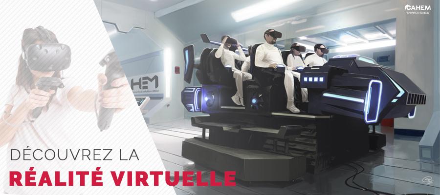 Cahem - Parc de réalité virtuelle - Caen - Aventurier de Cahem