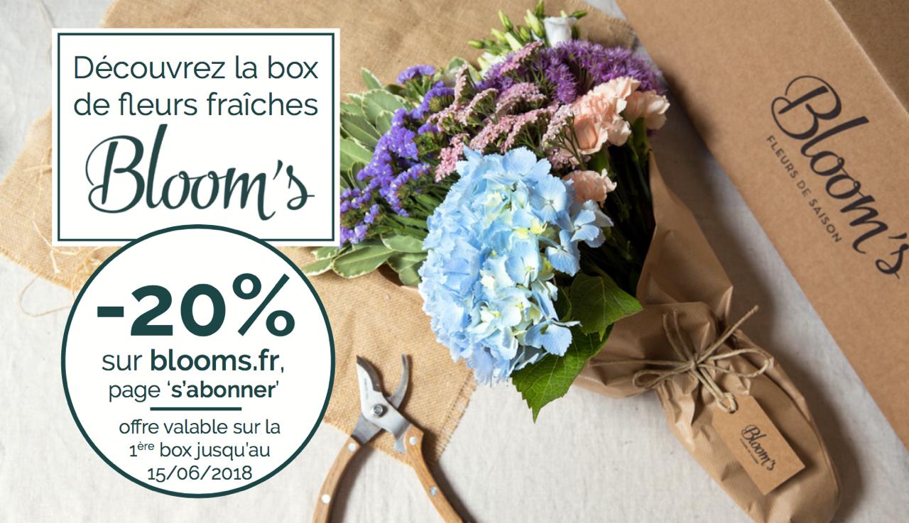 Bloom's - 20% avec GUEST CLUB
