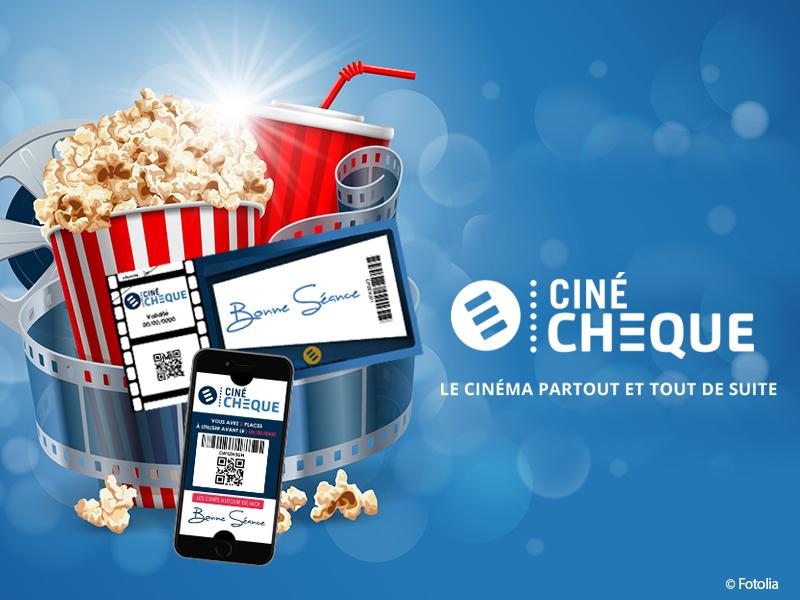 E-billet – Valable 7/7 J dans près de 900 cinémas - Cinéchèque