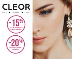 Cleor - Bijoux / Horlogerie - Jusqu'à 20 % de remise