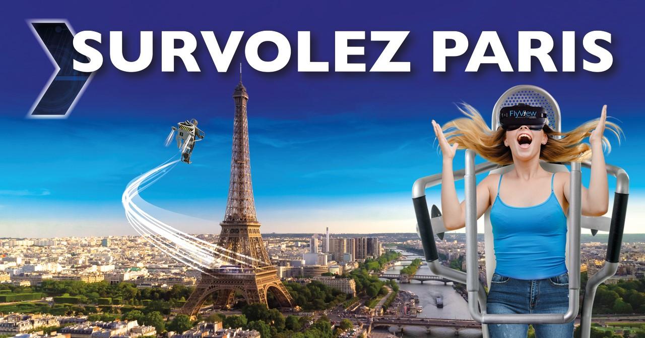 FlyView - Réalité Virtuelle - Paris - 1 session