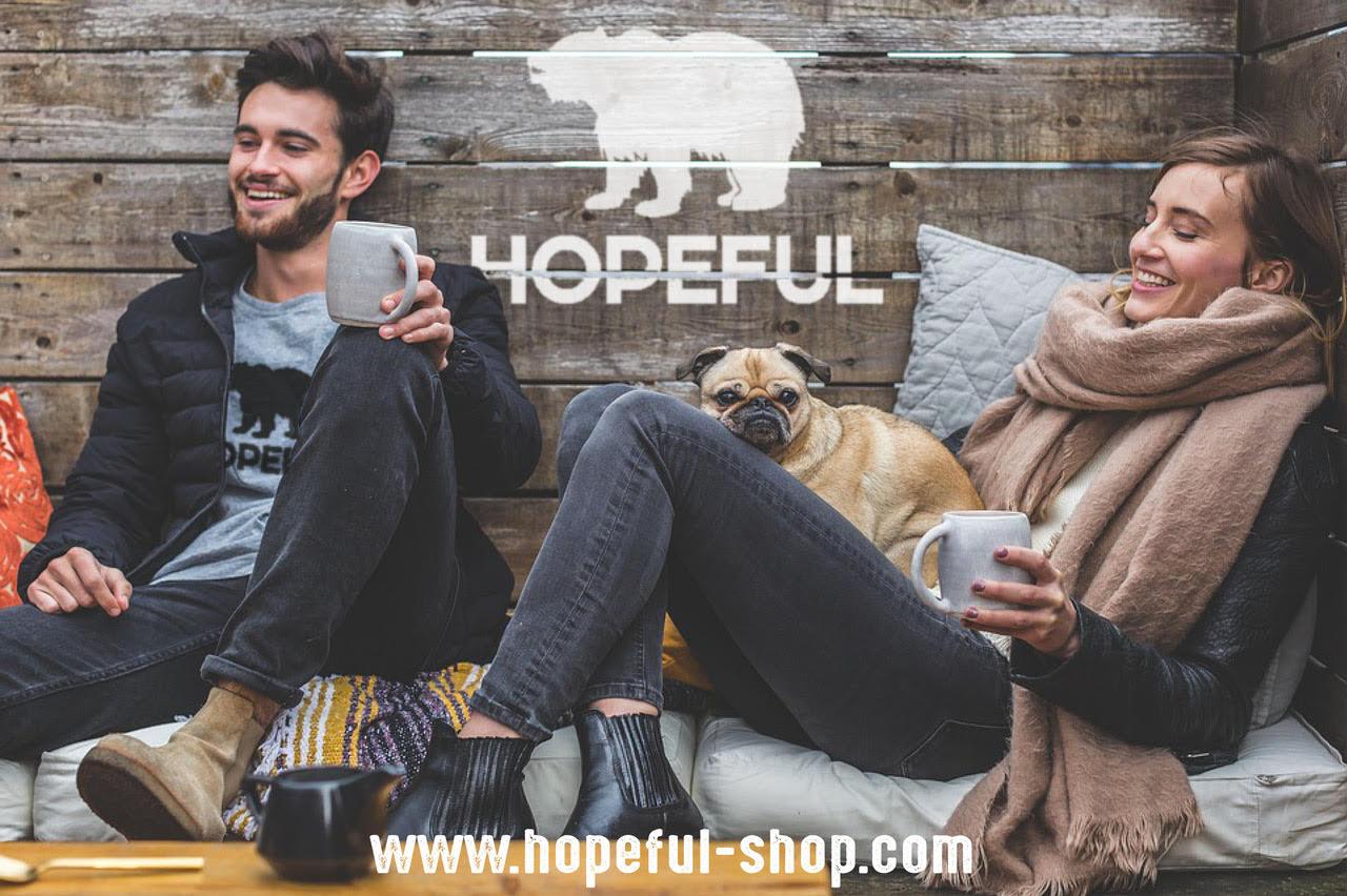 Hopeful - Bénéficiez de 20% de remise de base et jusqu'à 30% de réduction dès 139€ d'achat !