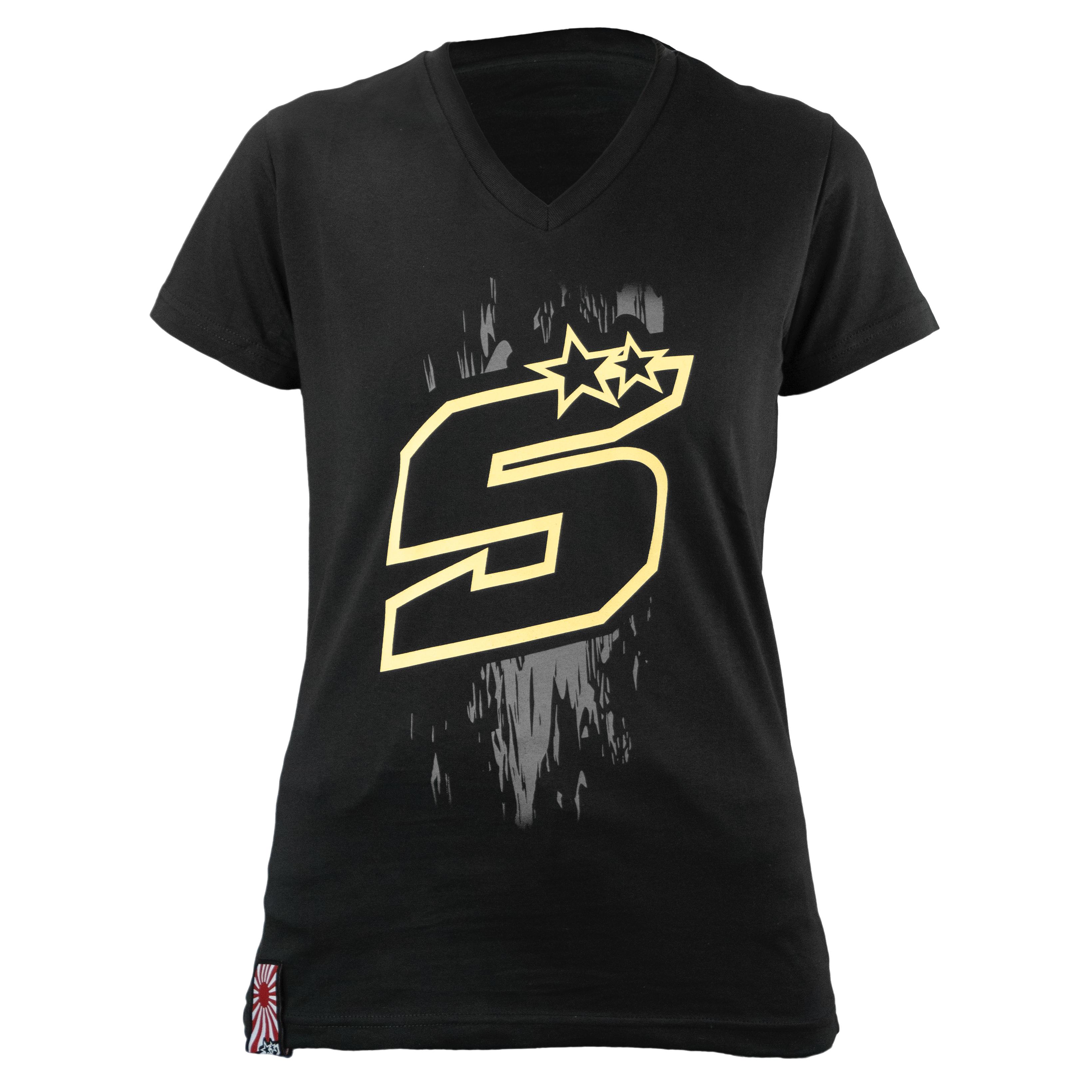 zarco-Tee Shirt Zarco Z5 D Gold Woman