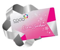 Carte Cadeau - CADO Carte - 50€