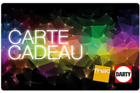 Carte Cadeau - Fnac / Darty - 100€