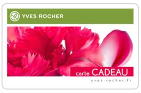 Carte Cadeau - Yves Rocher - 50€