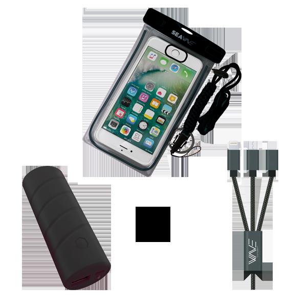 Pack ÉTÉ - Housse + Batterie + Câble 3 en 1