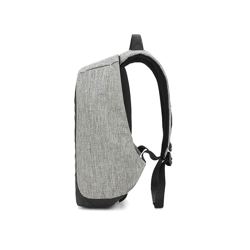 Sac à Dos Anti-Vol Multi Compartiments + Sortie UBS -  Gris