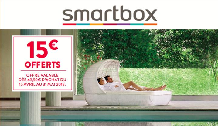 Smartbox - 15€ offerts avec GUEST CLUB
